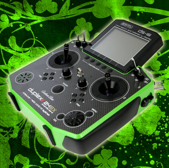 Green Carbon DS-16 Clover