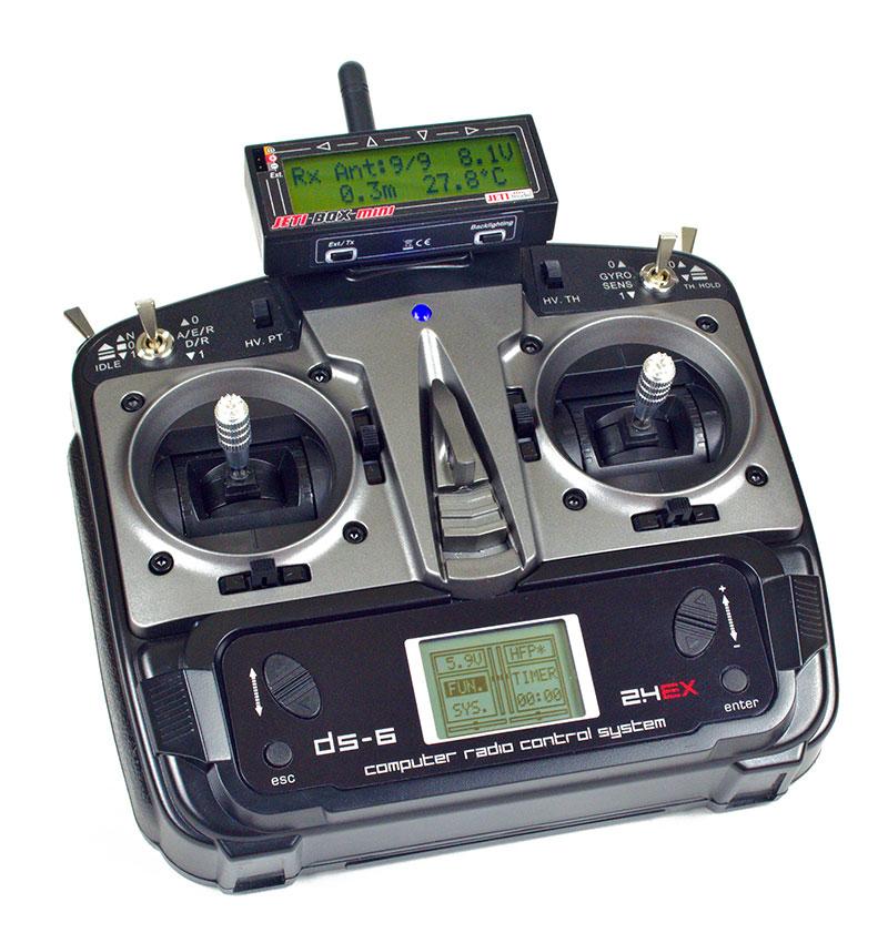 Jeti DS-6 Press no scratch